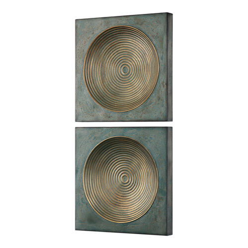 Sybil Metal Wall Decor, S/2