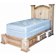Twin Mansion Storage Bed