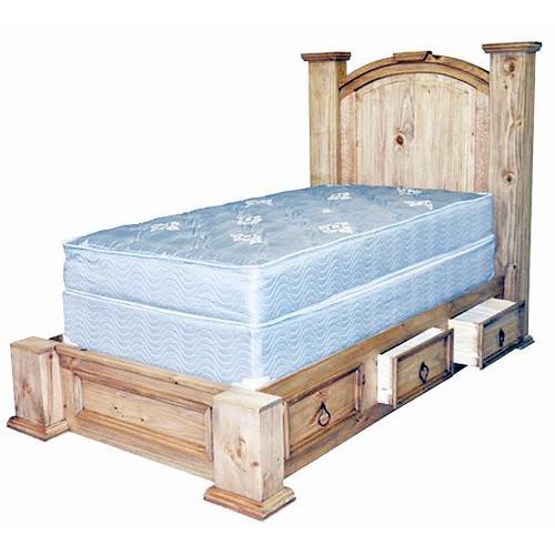 Twin Mansion Storage Bed
