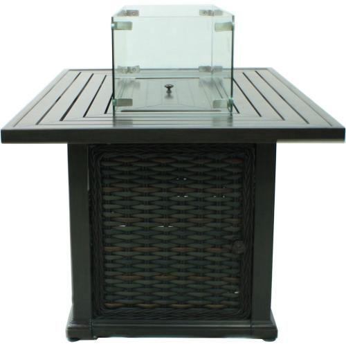 South Hampton Rectangular Fire Pit