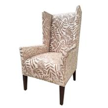 """Foray"" Chenile Wing Back Chair GA"