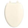 Traditional Elongated Luxury Toilet Seat - Biscuit