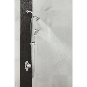 Align chrome posi-temp® tub/shower