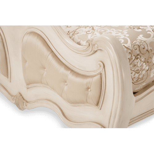Chateau de Lago King Panel Headboard Blanc