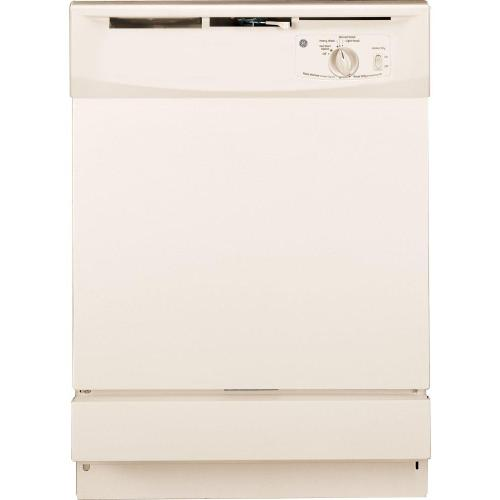 GE® Built-In Dishwasher-Economical and quick-Also Available In Black
