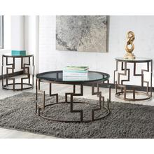 See Details - Signature Design by Ashley Frostine 3 Piece Occasional Table Set [FSD-TS3-10DB-GG]