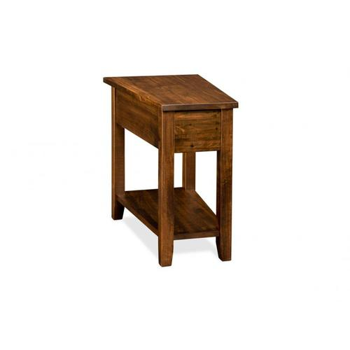 Handstone - Glengarry Wedge Table 11'' Wide at Front with Shelf