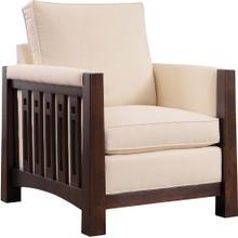 Oak Highlands High Back Chair