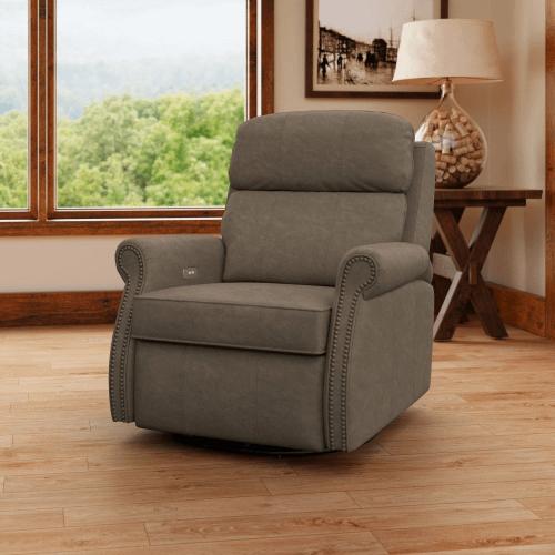Leslie Iii Swivel Reclining Chair CLP767-10/SHLRC