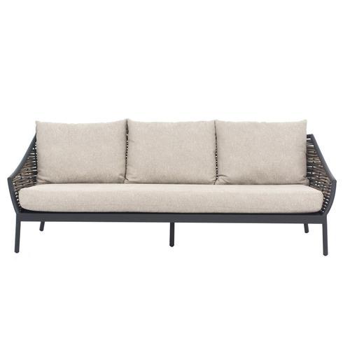Alfresco Home - MILOU Wicker Deep Seating Sofa w/ cushion