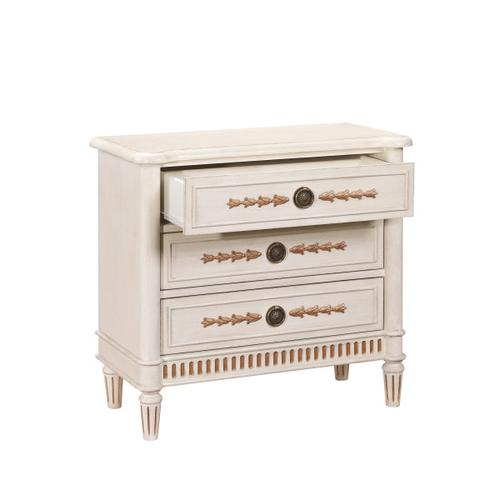 Fluted Base Drawer Chest