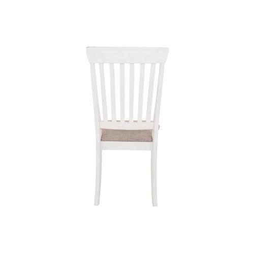 Danbeck Dining UPH Side Chair Chipped White
