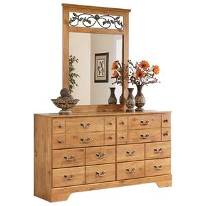 Signature Design By Ashley - Bittersweet Dresser and Mirror