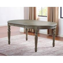 Emmett 70-inch Dining Table w/18-inch leaf