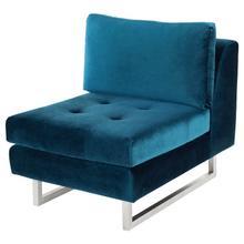 Janis Sofa Extension  Midnight Blue