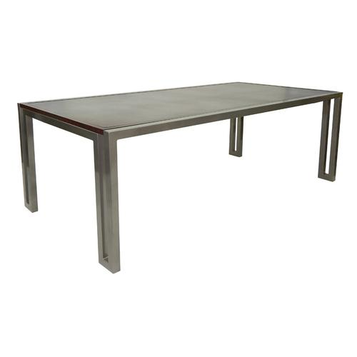 """Castelle - 86"""" Icon Rectangular Dining Table"""