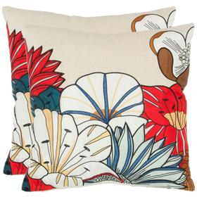 Barb Pillow - White / Beige