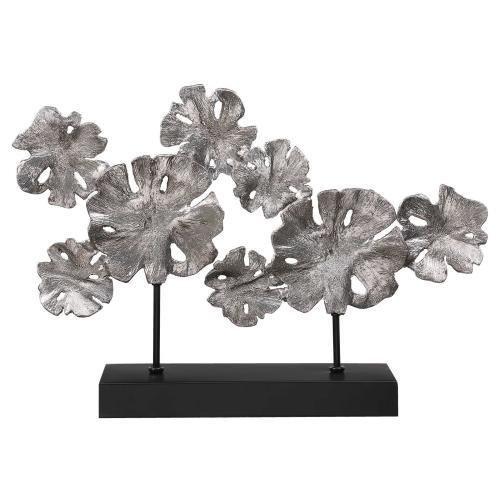 Contemporary Lotus Sculpture