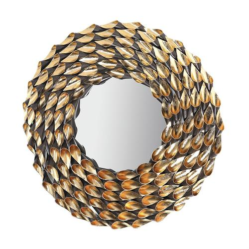 See Details - Wreathed mirror.