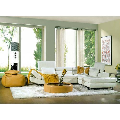Divani Casa 8011 - Modern Bonded Leather Sectional Sofa