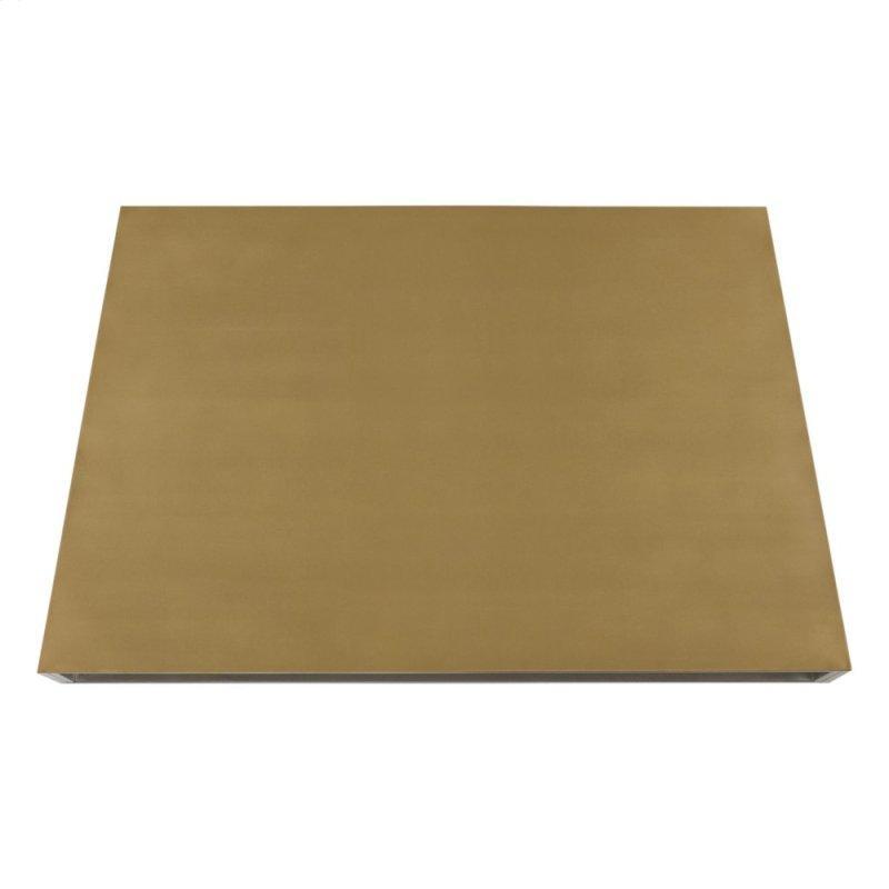 Monogram 48 inch Custom Brass Hood