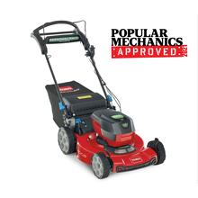 """See Details - 22"""" (56cm) 60V MAX* Electric Battery SMARTSTOW Personal Pace Auto-Drive High Wheel Mower (21466)"""