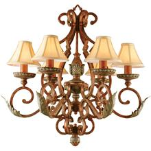 AF Lighting Provencal Six Light Chandelier, 3900-6H