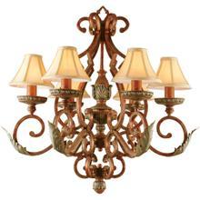 AF Lighting Provencal Six Light Chandelier, 3900-6H