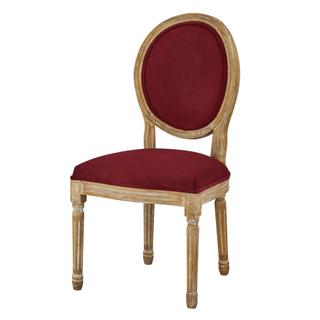 See Details - Round Maxwell Side Chair (berry)