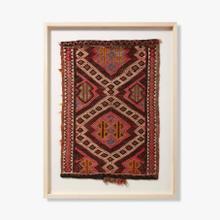0351760024 Vintage Turkish Rug Wall Art
