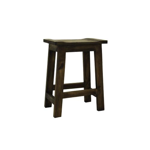 """L.M.T. Rustic and Western Imports - Jalapa Medio 24"""" Barstool"""