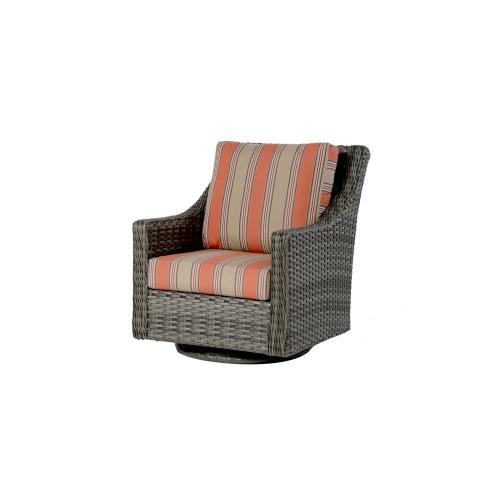 St. Martin Swivel Gliding Club Chair