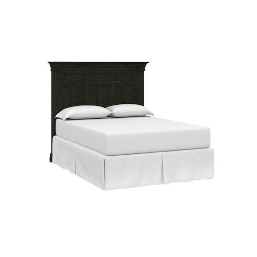 Woodridge Cal King Panel Bed, Footboard Low