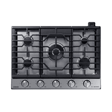 "30"" Gas Chef Collection Cooktop with 22K BTU Dual Power Burner, NA30N9755TS/AA (Stainless)"