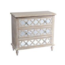 Canterwood Accent Cabinet, Whitewash Ac701-05