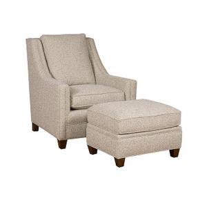 King Hickory - Brenna Chair, Brenna Ottoman