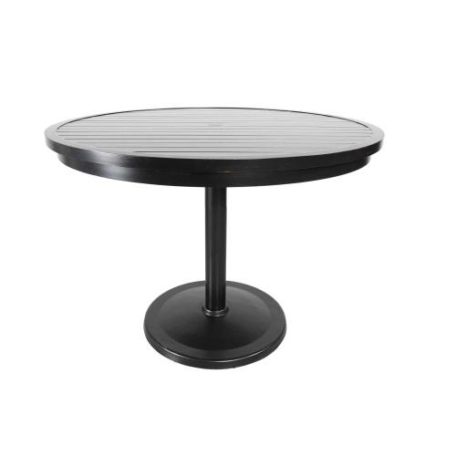 "Monaco 56"" Round Pedestal Balcony Table"