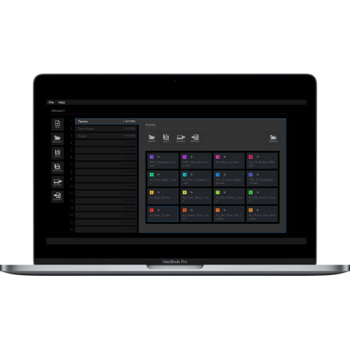 Pioneer - Software for creating DJS-TSP projects and scenes