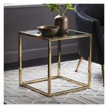 GA Santorini Side Table Gold