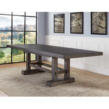 View Product - Napa 108-inch Dining Table with 2/18-inch Leaves