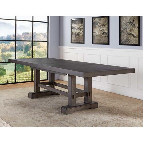 Napa 108-inch Dining Table with 2/18-inch Leaves