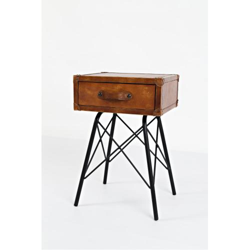 Jofran - Global Archive Leather Accent Table