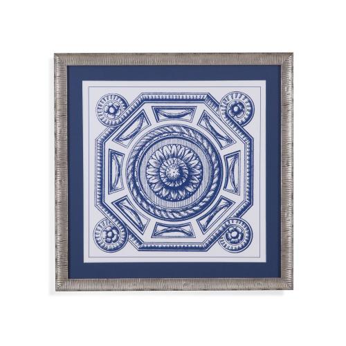 Bassett Mirror Company - Indigo Medallion II