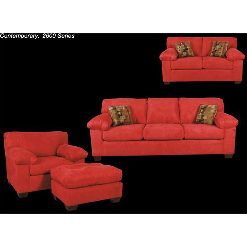 "Best Craft Furniture - 2615 Full Sleeper 6"""