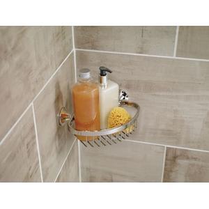 Wynford chrome shower basket