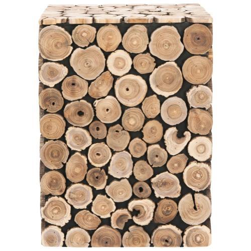 Jefferson Stool - Medium Oak / Black