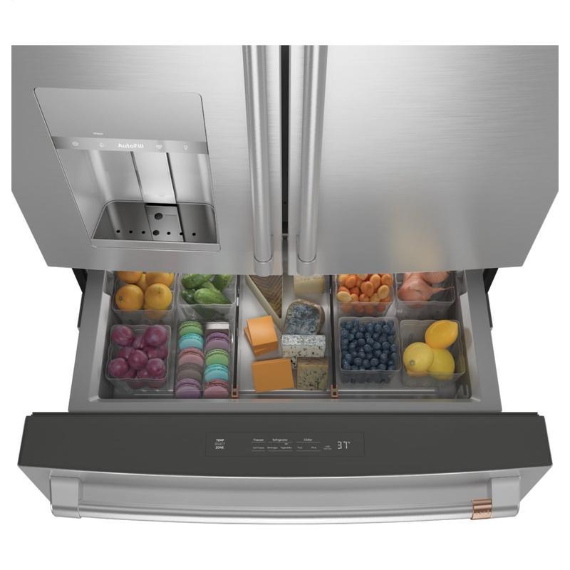 Café ENERGY STAR ® 27.8 Cu. Ft. Smart 4-Door French-Door Refrigerator