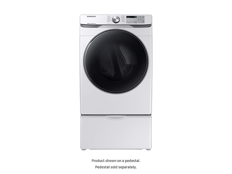 7.5 cu. ft. Electric Dryer with Steam Sanitize+ in White Photo #3
