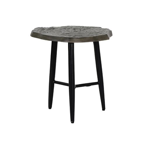 """Castelle - 20"""" Nature's Wood Side Table"""