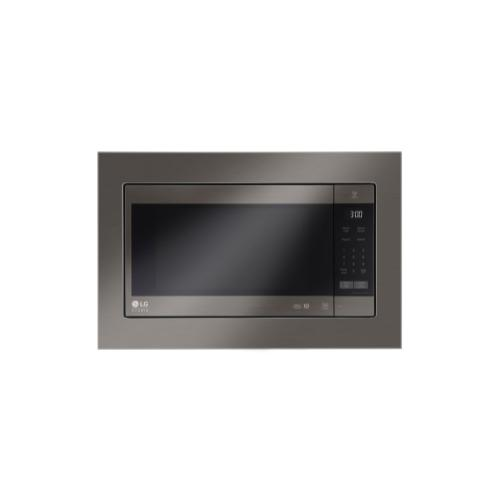 LG - LG STUDIO 2.0 cu. ft. NeoChef Countertop Microwave with Smart Inverter and EasyClean®